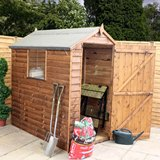 Shalford 6'x4' Feather Edge Shed
