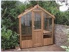 Kingfisher Wooden Greenhouse 6'8 x 8'4