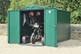 Asgard Motorbike Plus Secure Garage 5'x10'9