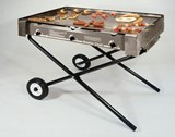 Deluxe Masterchef Stainless Steel Gas Barbeque