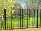 Wenlock Ball Top Fence 1.81m x 0.9m