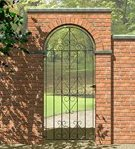 Ludlow Bow Top Scroll Gate 0.77m x 1.80m