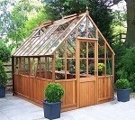 Malvern Victorian Greenhouse 7'10x6'4 Wide