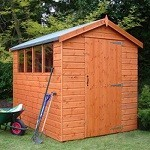 Supreme Apex Shed 8x6 (2.43mx1.82m)