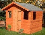 Popular Hobby shed 5x7 (1.52m x 2.13m). Ready Built Free Delivery