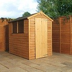Hampshire Overlap Apex Shed 6x4