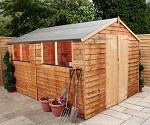 Hampshire Overlap Apex Shed 12x8 (3.65mx2.43m)
