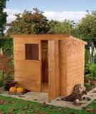 The Westminster Shiplap Pent Shed 6x4 (1.82m x 1.22m)