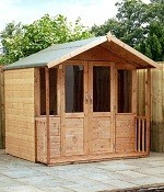 Dermot Traditional Summer House 8x7 (2.43mx2.13m)