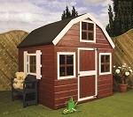 Dutch Barn Playhouse 5'11 x 5'11