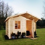 Rugeley Escape Log cabin
