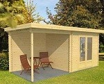 Swindon Log Cabin 2.5m x 5.5m