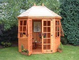 Lichfield Summerhouse 8x6 (2.43m x 1.82m) Fully Installed
