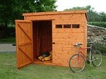 Security Pent Shed 6' x 6' (1.82m x 1.82m)