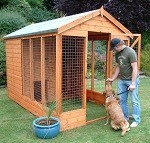 Midlands Deluxe Kennel and Run 10' x 6'