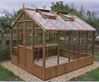 Raven Wooden Greenhouse 8'9 x 12'7
