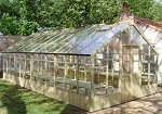Falcon timber greenhouse 13'1 x 25'2