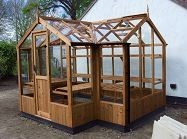 Cygnet Greenhouse 6'8 x 19'11 with porch