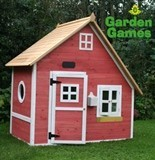 Crooked Mansion Wooden Playhouse