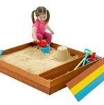 Store-It Wooden Sandpit
