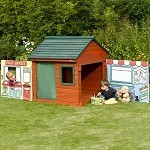 Wooden Role Play House