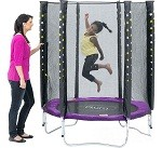 Stardust Trampoline With Enclosure