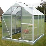 Eazi Click 6 x 6 Greenhouse with base