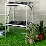 2 Tier Aluminium Shelving Unit