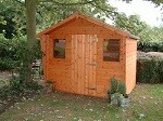 The Popular Cabin 5x7 Ready Built Free Delivery
