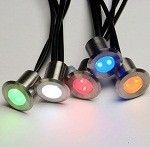 Boxset of 10 LED Deck Lights with remote control