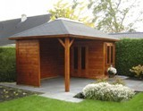 Lugarde Prima Monique Summerhouse (300cmx480cm) - including Internal Floor