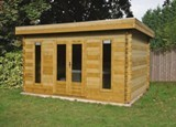 Lugarde Helsinki 44mm Log Cabin 4m x 2.5m