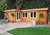 Lugarde Bordeaux 44mm Log Cabin (350x700cm)