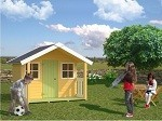 The Felix 16mm Wooden Playhouse 1.2x1.8m