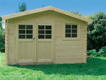 Chimay Log Cabin (3.58m x 2.98m)