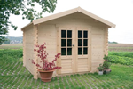 Cholet Log Cabin (2.38m x 1.98m)