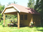 Cork Log Cabin (2.98m x 5.63m)