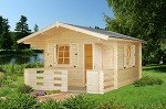 The Harriet 34mm Garden House 3.5x3.5m