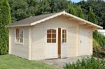 The Luise 34mm Summerhouse 4.7x3.5m