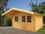 The Sally 44mm Garden House 3.8x3.8m