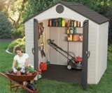 Lifetime Plastic Shed 8x12.5