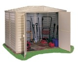 Duramax Duramate Plastic Shed 8x10
