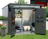 Biohort AvantGarde XX Large Metal Shed 2.60 x 3.80 m
