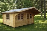 The Helena 70mm Superior Garden House 4.7x3.8m