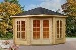 The Melanie 28mm Elegant Garden House 3.0x3.0m