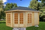 The Sarah 28mm Elegant Garden House 4.5x3.0m