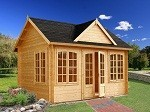 The Chloe Elegant Garden House 4.2 x 3.2m