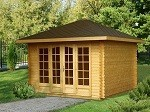 The Anette Elegant Garden House 3.5 x 3.5m
