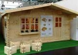 Bilbao Log Cabin 5x5m (16ft x 16ft) 44mm Free Delivery