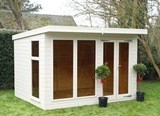 The Denby Summerhouse 14x8 Free Delivery Ready Built